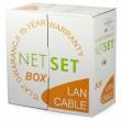 Cat 5e UTP Cable: NETSET BOX UTP PE (outdoor) [305m]